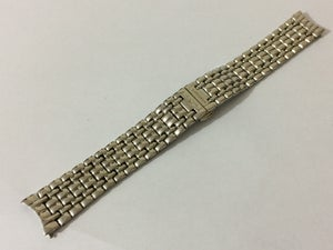 Image of LONGINES stainless steel curved lugs Gents watch strap,18mm/19mm/20mm, NEW