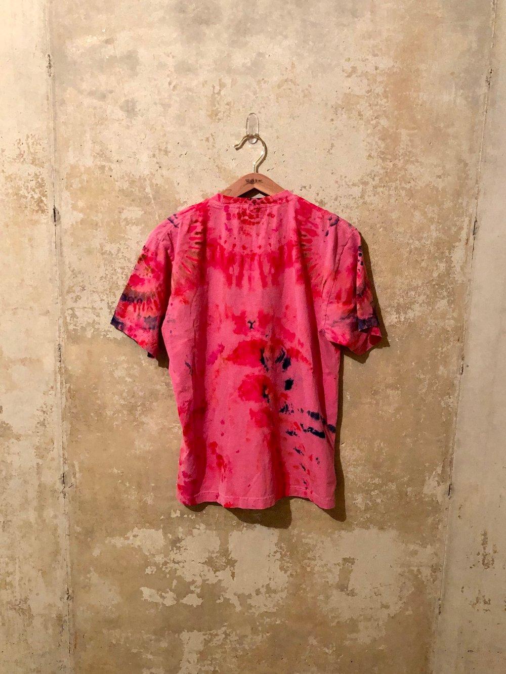 Small Puff Print Tye Dye Shirt #9