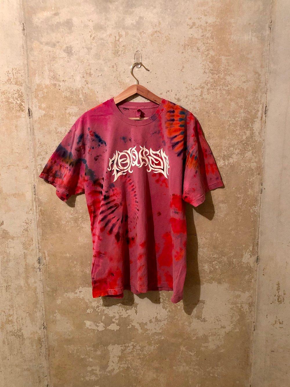 Large Puff Print Tye Dye Shirt #10