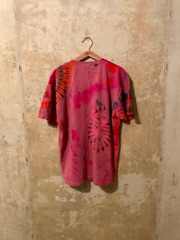 Image of Large Puff Print Tye Dye Shirt #10