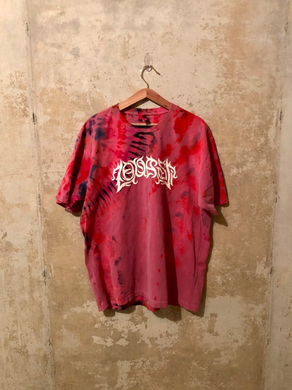 Image of Large Puff Print Tye Dye Shirt #12