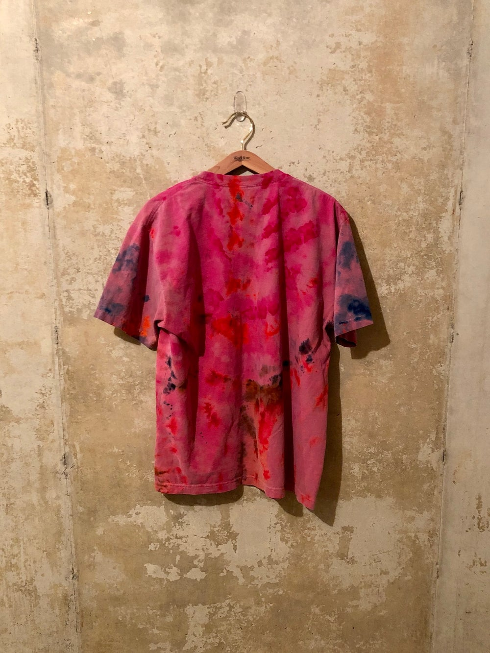 Medium Puff Print Tye Dye Shirt #13