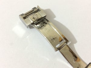 Image of ROLEX 9mm x 9mm polish/brushed secure rail glide lock clasp/Buckle