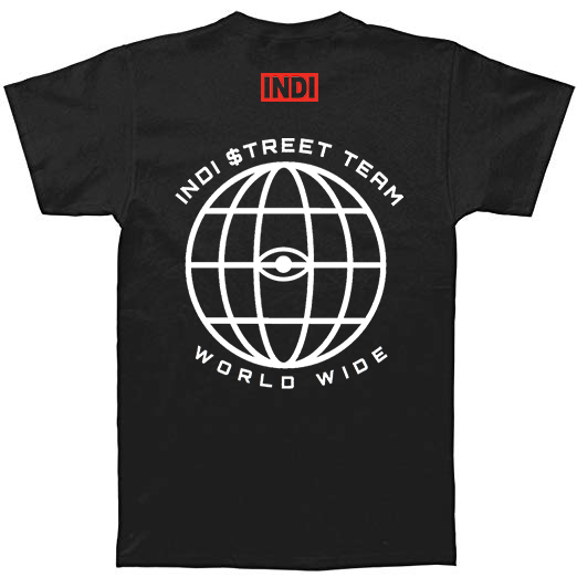 Image of INDI Street Team Worldwide T-Shirt