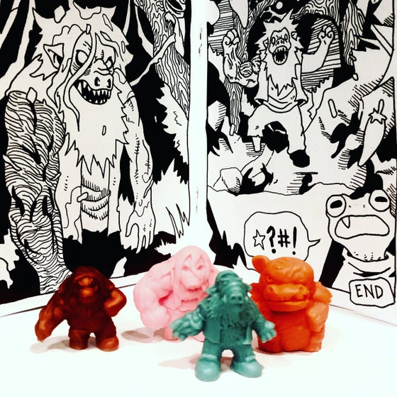Image of The Lieutenant mini comic & minifigure 4-pack
