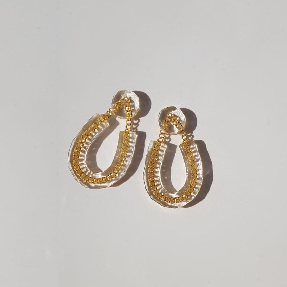 Image of Figment Earrings - Gold