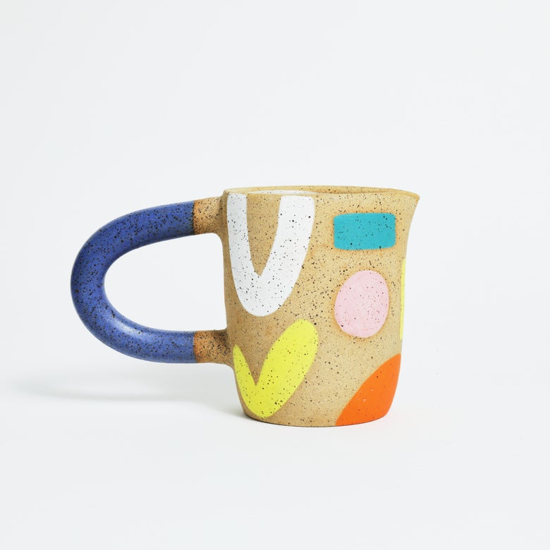 Image of Painted Pitcher