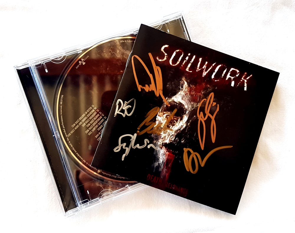 Image of CD (SIGNED) - Soilwork 'Death Resonance'