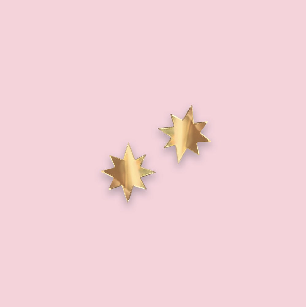 Image of Starry Night Sky Studs (Mini)