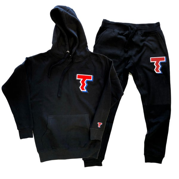 Image of T - SWEATSUIT - BLACK