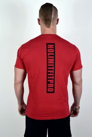 Image of  ATHLEISURE TEE SHIRT RED