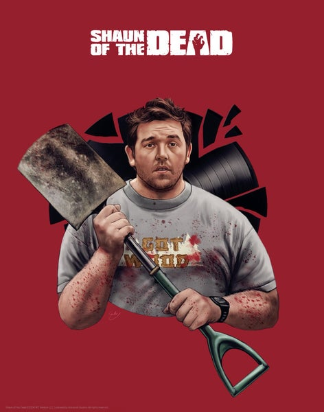 "Image of Nick Frost/Shaun of the Dead 11x14"" (officially licensed)"
