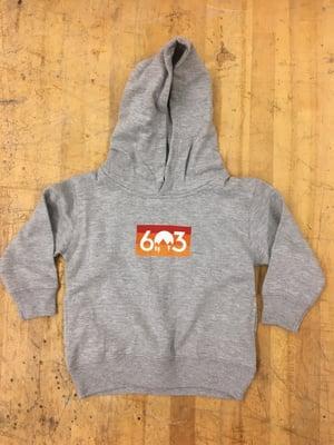 Image of Kids/ Toddler 603 sunset hoodie