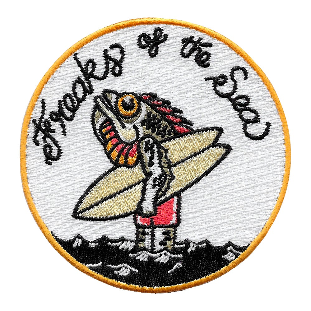 Image of Freaks of the Sea Fish Man patch by buenas olas