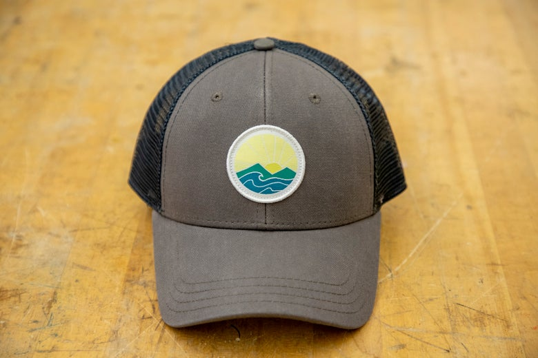 Image of Sunrise trucker hat - grey