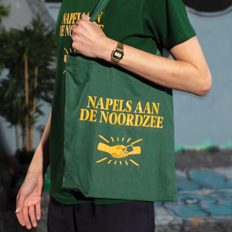 Image of PIP 'NAPELS AAN DE NOORDZEE' TOTE BAG