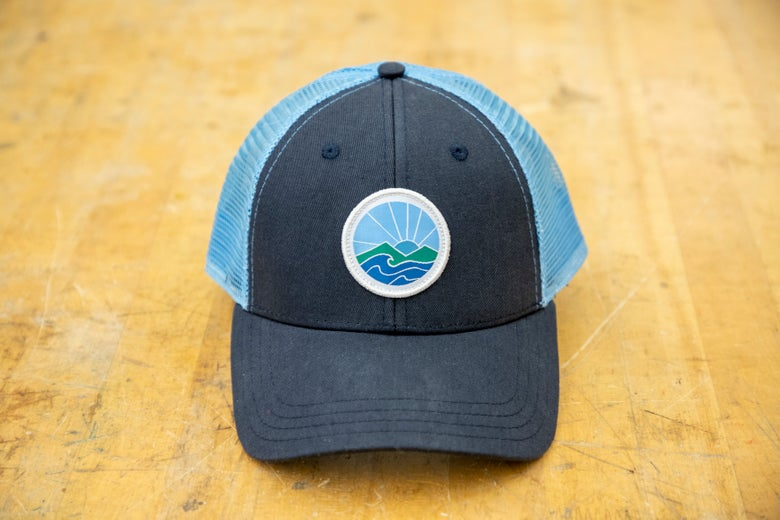 Image of Sunrise trucker hat - navy