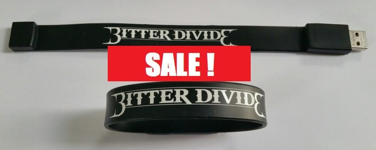 Image of BITTER DIVIDE 2G USB WRISTBAND