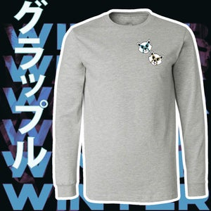 Image of Embroidered Lucha Cat Longsleeve