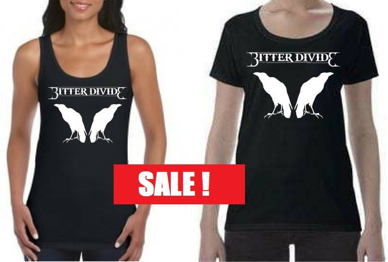 Image of Bitter Divide - Womens - Limited - Scoop Neck or Tank - T-Shirt