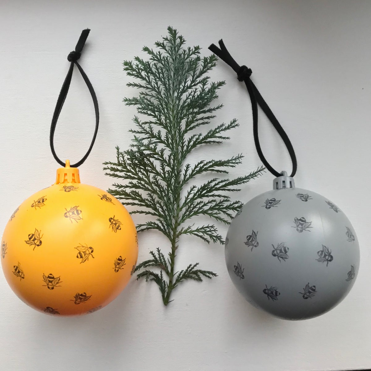 Image of MANCHESTER BEE CHRISTMAS BAUBLE BEEBLE