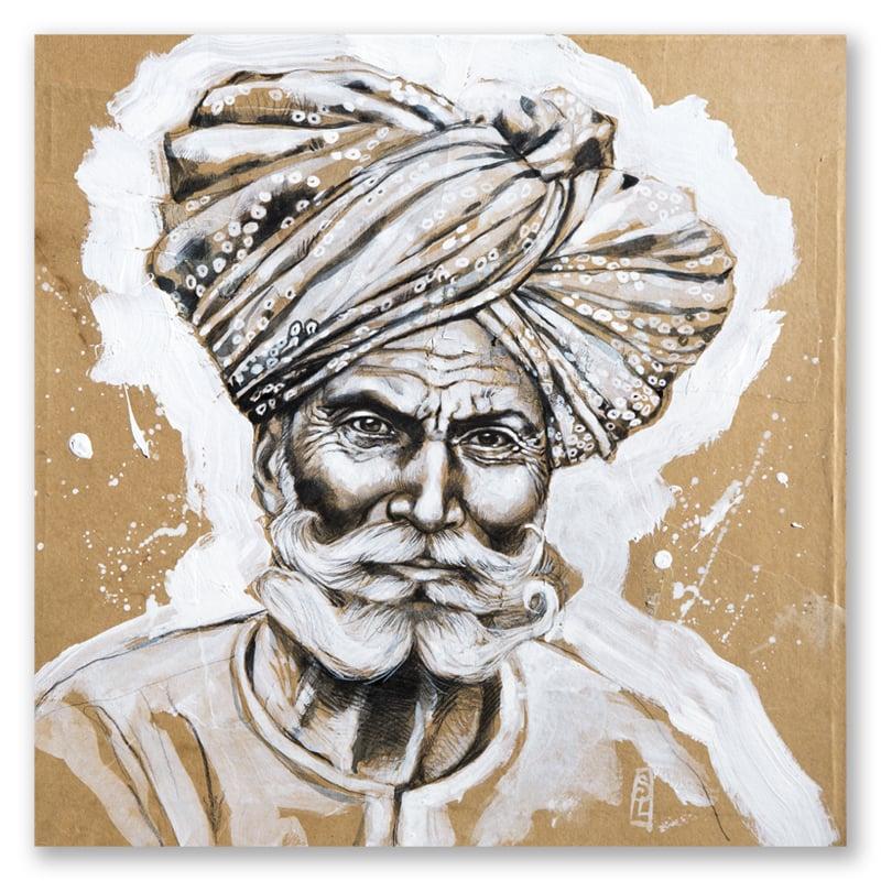 """Image of Paper Art Print - """"Pemaram"""""""
