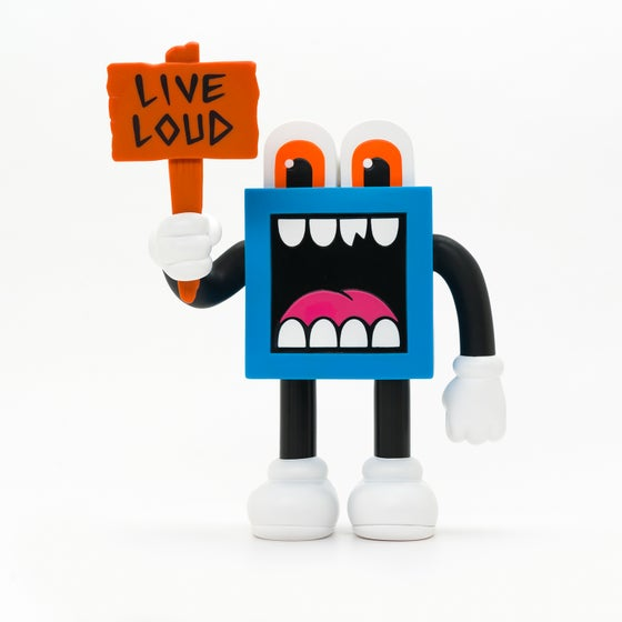 Image of LOUDMOUF FIGURE: Artist Studio Edition