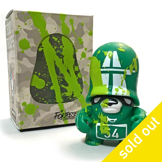 Image of Autobahn Roadkill - Green Edition / vinyl toy