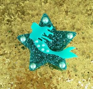 Image of Magical Mermaid Dream Brooch - Seafoam