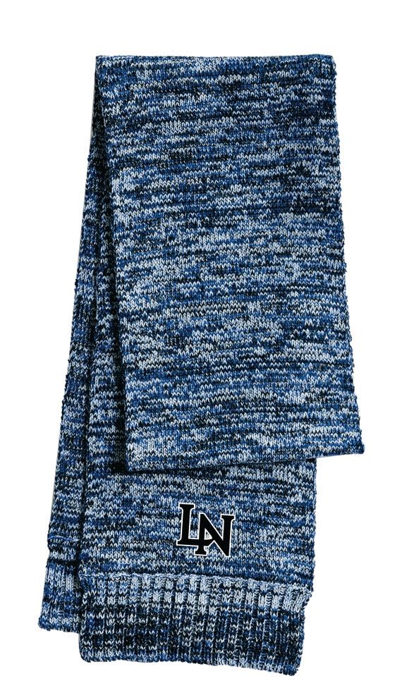 Image of Embroidered Marled Scarf