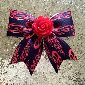 Image of SALE - Hot Rod Rosie Hair Bow