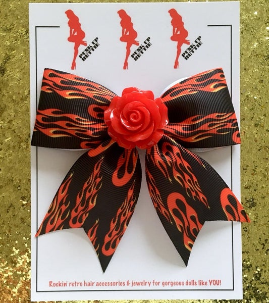 Image of Hot Rod Rosie Hair Bow