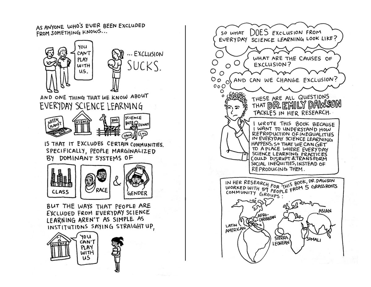 Image of Equity, Exclusion, and Everyday Science Learning - Zine Edition!