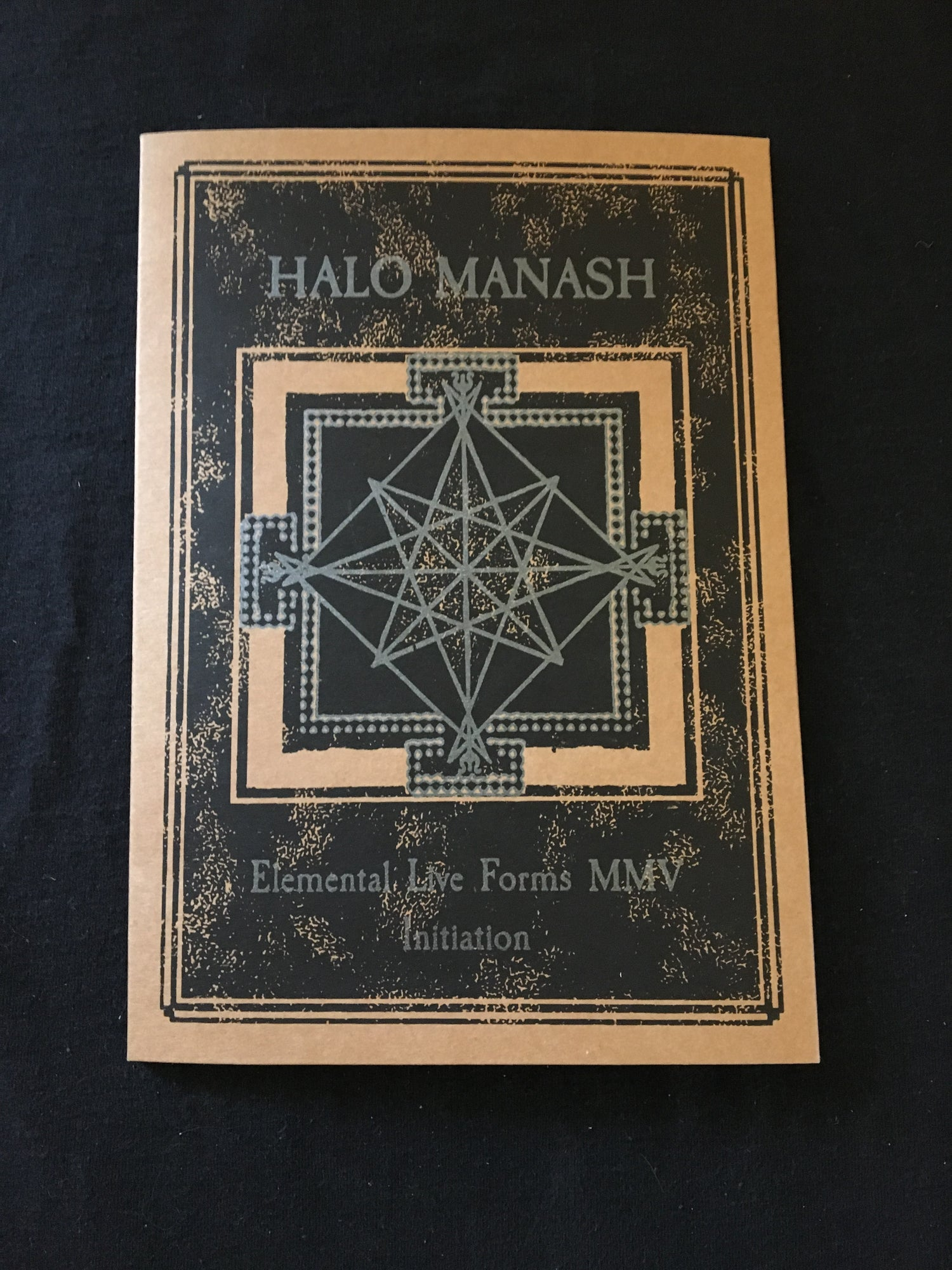 Halo Manash - Elemental Live Forms CD (Aural Hypnox)