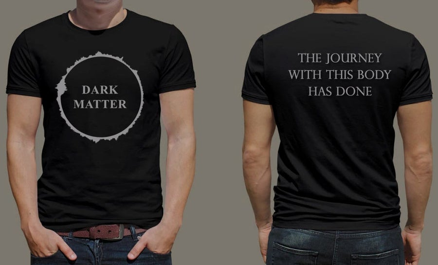"Image of DARK MATTER ""Dark Matter"" t-shirt"
