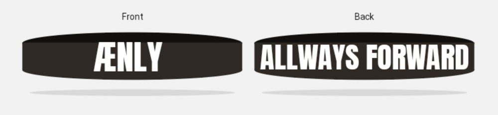 Image of ÆNLY Wristband