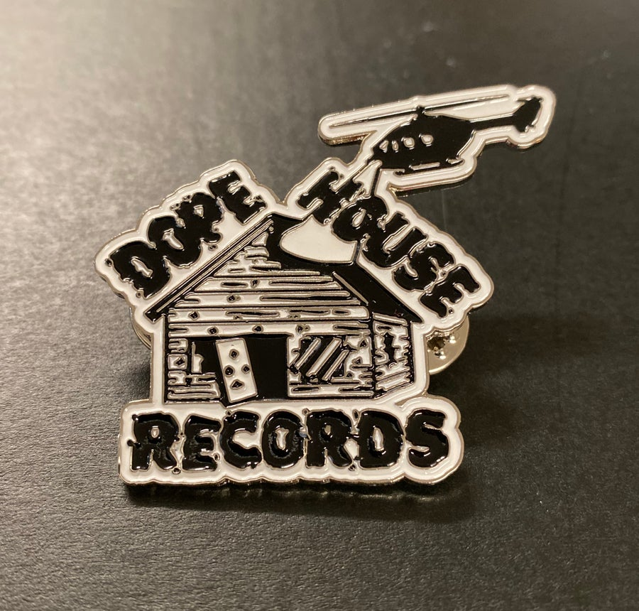 Image of DOPE HOUSE RECORDS LOGO PIN