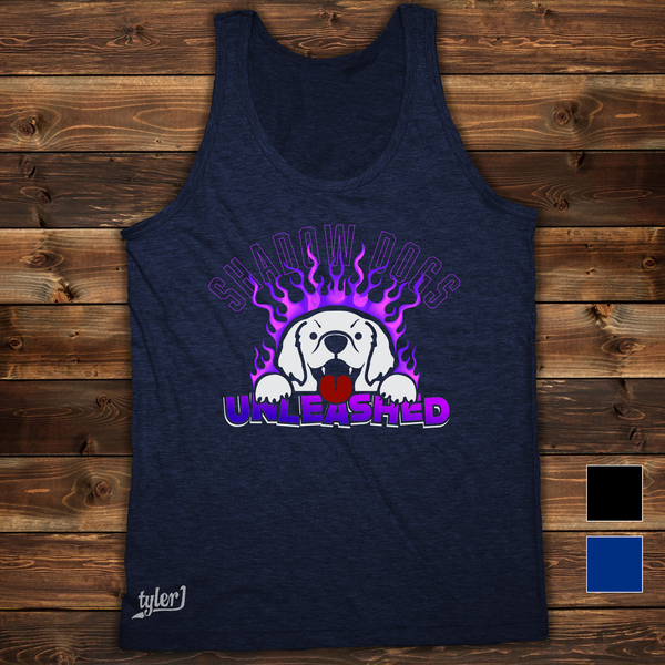 Image of Shadow Dogs Tank - Midnight Blue