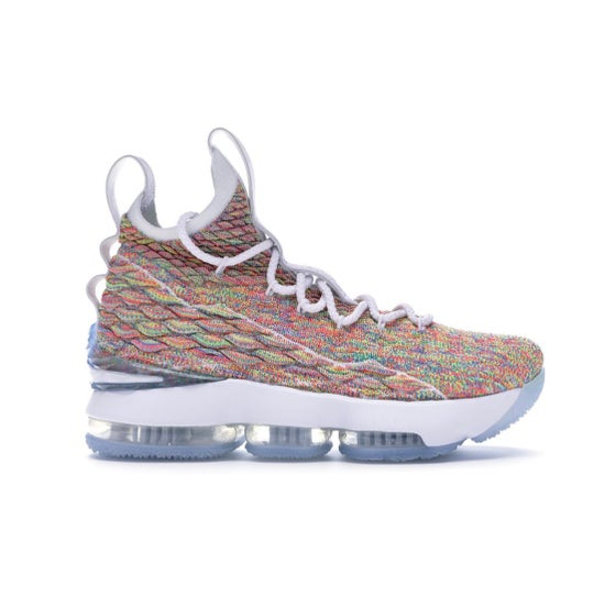 Image of Nike Lebron 15 - Fruity Pebbles - Size 10