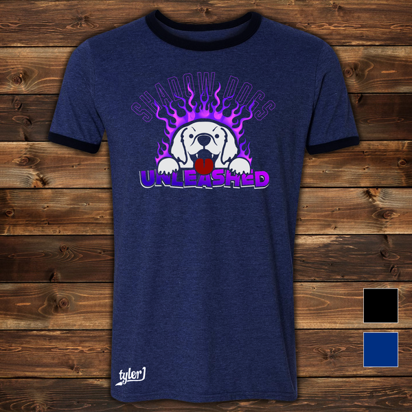Image of Shadow Dogs Tee - Midnight Blue