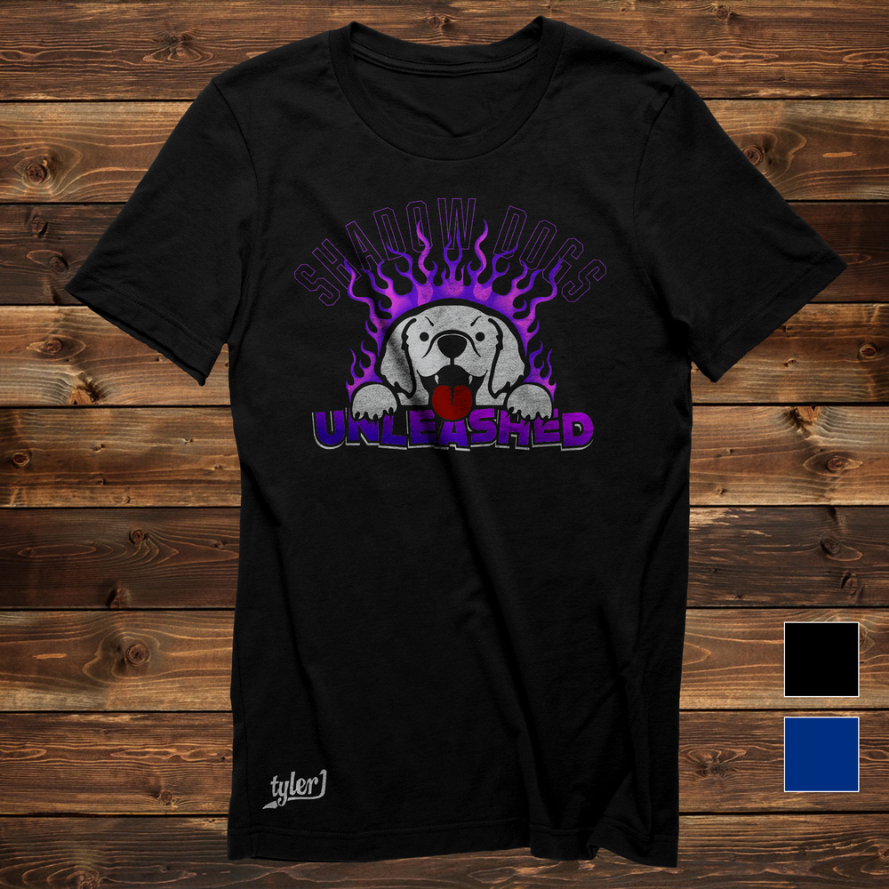 Shadow Dogs Tee - Black