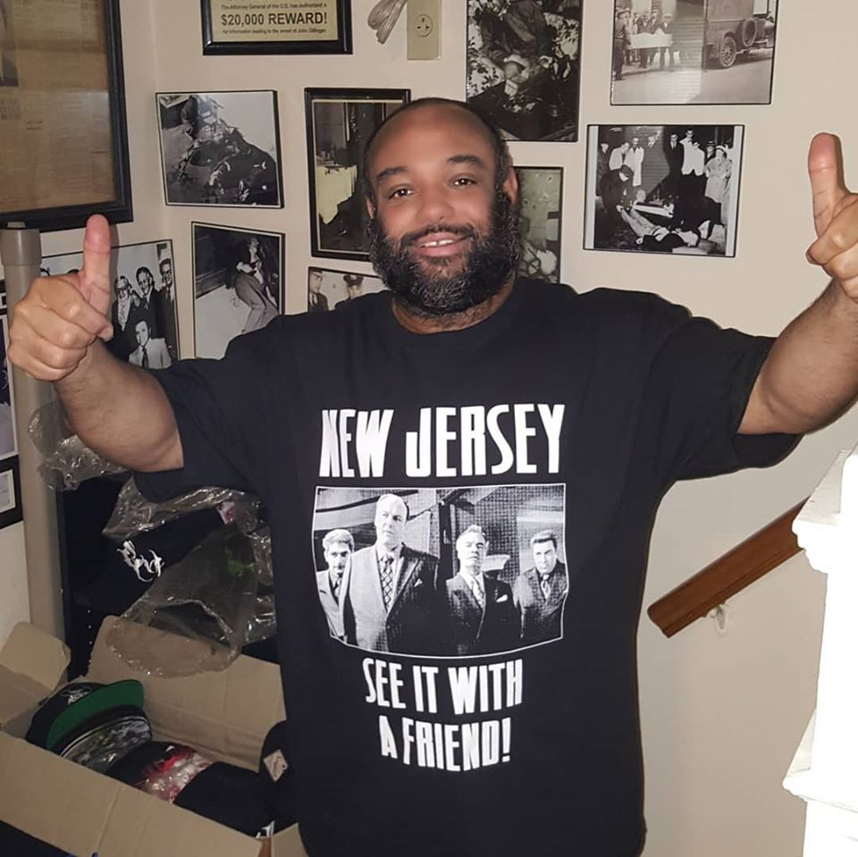 Image of NEW JERSEY SEE IT WITH A FRIEND T SHIRT (IN STOCK)