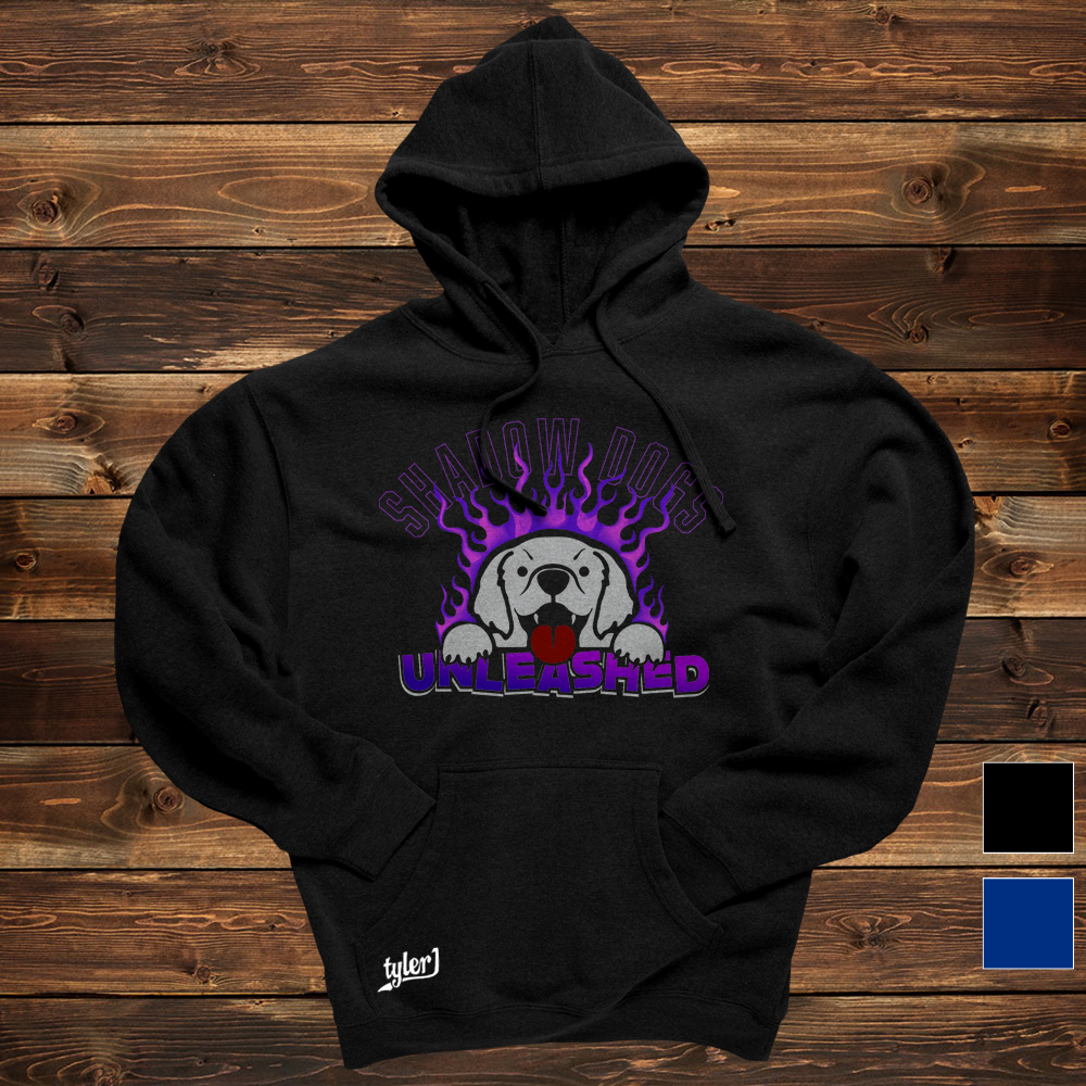 Shadow Dogs Hoodie - Black