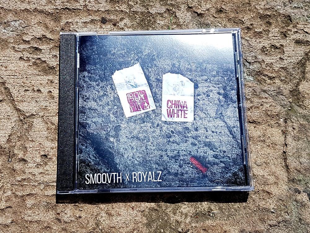 "Image of Smoovth X Royalz ""China White"" CD"