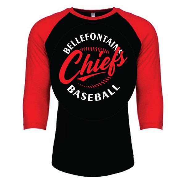Image of Next Level 3/4 Sleeves for BHS Baseball