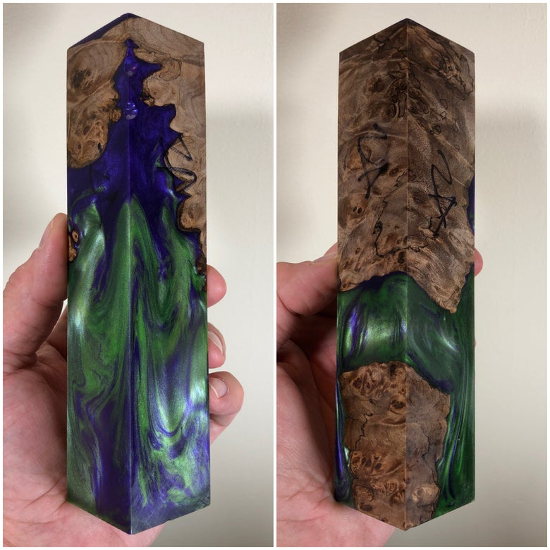 "Image of Hulk Smash ShokWood Block Oddity Numb24 1-1/2"" x 1-1/2"" x 7"""