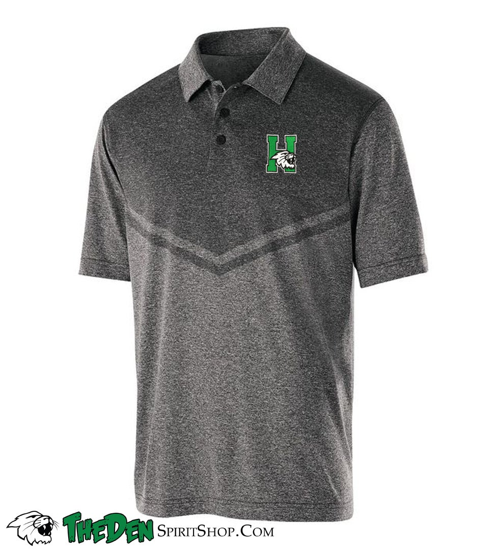 Image of Adult Seismic Polo, Grey