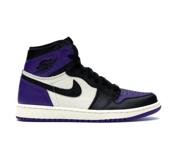 Image of Jordan 1 - Court Purple - Size 9.5