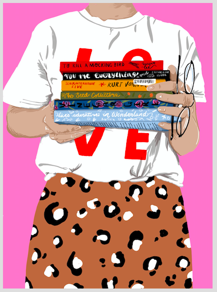 Image of A4 Love stack print