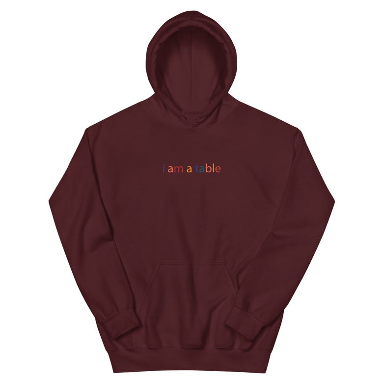 "Image of i am a table 'Fall Colors"" Hoodie"